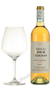 Chateau Tour Leognan Pessac-Leognan Французское вино Шато Тур Леоньян Пессак-Леоньян
