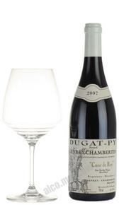 Bernard Dugat-Py Gevrey-Chambertin Coeur de Roy Vieiless Vignes Французское вино Бернард Дюга-Пи Жеврэ-Шембертен Кер де Руа Вьей Винь