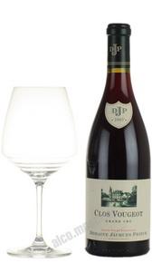 Domaine Jacques Prieur Clos Vougeot Grand Cru Французское вино Домен Жак Приер Кло Вужо Гран Крю