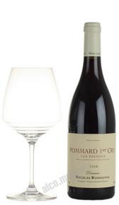 Domaine Nicolas Rossignol Pommard 1er Cru Les Epenots Французское вино Домен Николя Россиньоль Поммар Премьер Крю Эпено