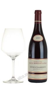 Domaine Louis Boillot & Fils Gevrey-Chambertin 2007 Французское вино Домен Луи Буало э Фис Жефрэ-Шембертен 2007