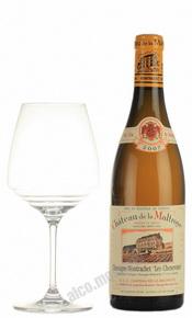 Chateau de la Maltroye Chassagne-Montrachet Les Chenevottes 1er Cru 2007 Французское вино Шато де ла Мальтруа Шассань-Монраше Ле Шенвот Премье Крю 2007