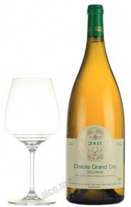 Jean-Marc Brocard Chablis Grand Cru Французское вино Жан-Марк Брокар Шабли Гран Крю