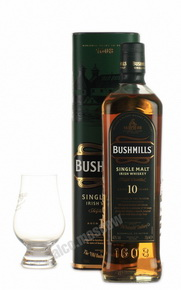 Bushmills Single Malt 10 years Ирландский виски Бушмилс Сингл Молт 10 лет