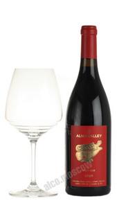 Alma Valley Pinot Noir Российское вино Алма Велли Пино Нуар