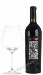 Lefkadiya Merlot Российское вино Лефкадия Мерло
