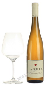 Sander Sauvignon Blanc Trocken немецкое вино Сандер Совиньон Блан Трокен
