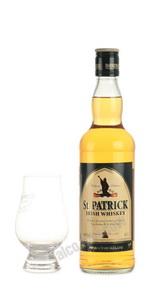St. Patrick 0.5l виски Святой Патрик 0.5л