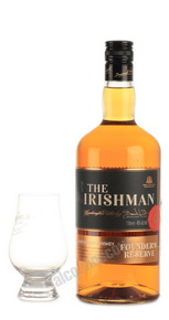 Irishman Founders Reserve 7 years 1l виски Айришмен Фаундерс Резерв 7 лет 1л