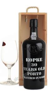 Porto Kopke 30 years портвейн Копке 30 лет в д/у