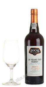 Porto Pocas Tawny 20 years портвейн Посаш Тони 20 лет