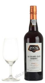 Porto Pocas Tawny 10 years портвейн Посаш Тони 10 лет