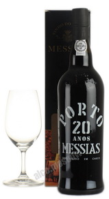 Messias Porto 20 years портвейн Мессиас Порто 20 лет в п/у