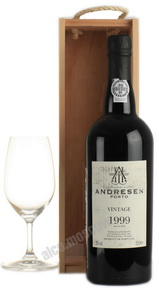Andresen Vintage 1999 Портвейн Андресен Винтаж 1999