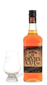 Jim Beam Devil's Cut Виски Джим Бим Девилс Кат