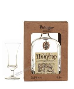 Водка Полугар Ржаной 0.615l в п/у с окошком