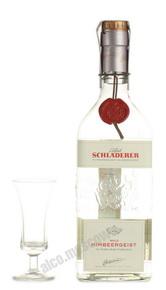 Малиновая водка Шладерер водка Schladerer Wald Himbeergeist 0.7l