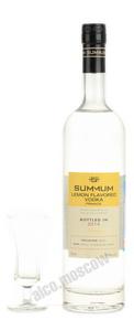 Лимонная водка Суммум Summum Lemon Flavored Vodka 0.75l