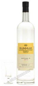 Лимонная водка Суммум Summum Lemon Flavored Vodka 1.75l