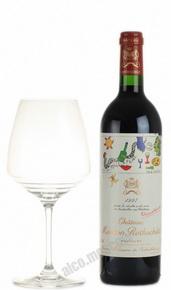Chateau Mouton Rothschild Pauillac 1997 Французское вино Шато Мутон Ротшильд Пойяк 1997