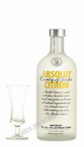 Absolut Citron водка Абсолют Цитрон 0.7l