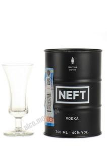 Neft водка Нефть черная упаковка