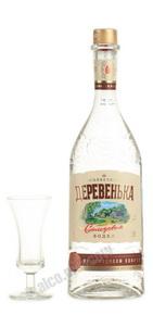 водка Солнечная Деревенька на солодовом спирте Альфа