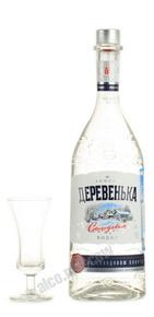 водка Зимняя Деревенька на солодовом спирте Альфа