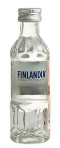 Finlandia водка Финляндия 0.05l