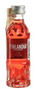 Finlandia Redberry водка Финляндия Клюква 0.05l