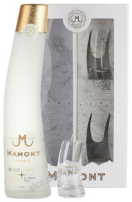 Mamont водка Мамонт 0.7l в п/у + 2 рюмки