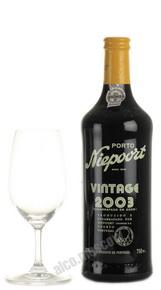 Niepoort Vintage 2003 Портвейн Нипорт Винтаж 2003