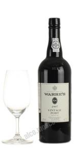 Warres Vintage 1997 портвейн Уоррс Винтаж 1997