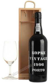 Porto Kopke Vintage 1996 портвейн Копке Винтаж 1996 в д/у