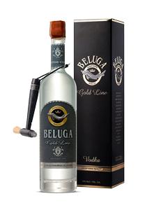 Beluga Gold Line водка Белуга Золотая Линия с кисточкой в п/у кожа