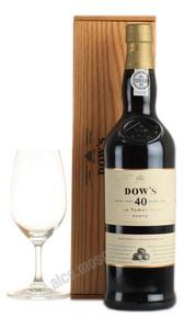 Dows 40 years old Tawny Портвейн Доуз Тони 40 лет