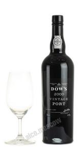 Dows 2000 Vintage Портвейн Доуз Винтаж 2000