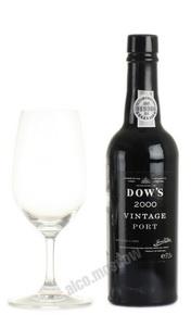 Dows 2000 Vintage Портвейн Доуз 2000 Винтаж