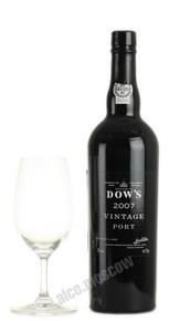 Dows 2007 Vintage Портвейн Доуз Винтаж 2007