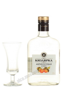 водка Абрикосовая Кизлярка 0.25l