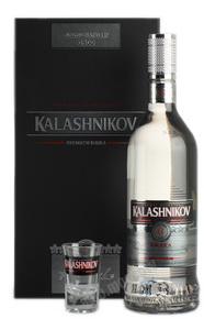 Kalashnikov Premium водка Калашников Премиум 0.7l в п/у + 3 рюмки