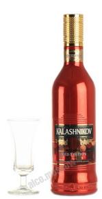 Kalashnikov Premium Red Edition водка Калашников Премиум Ограниченное издание
