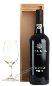 Barros Vintage 2011 портвейн Баррос Винтаж 2011 в д/у
