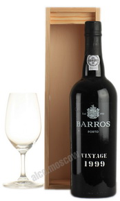 Barros Vintage 1999 портвейн Баррос Винтаж 1999 в д/у