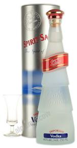 Spirit of Santa водка Спирит оф Санта в голубой тубе