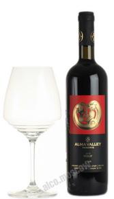Вино Alma Valley Merlot Reserve Российское вино Алма Велли Мерло Резерв