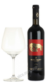 Alma Valley Shiraz Reserve Российское вино Алма Велли Шираз Резерв