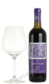 Alma Valley Red Российское вино Алма Велли Красное