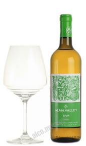 Alma Valley White Российское вино Алма Велли Белое