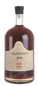 Grahams Tawny Port 20 years 4.5l портвейн Грэмс Тони Порт 20 лет 4.5л